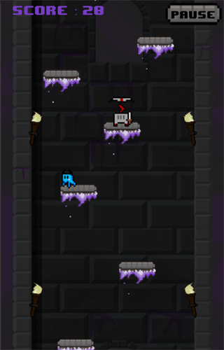 Ghastly Leap: screenshot