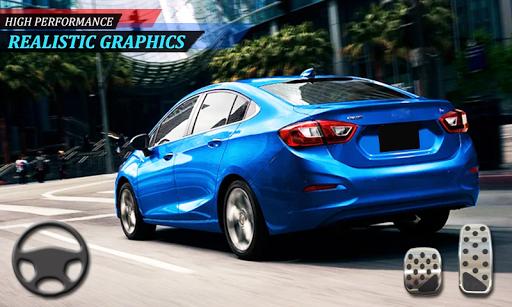 Cars Drifting games free 3D driving Cruze 1.7 screenshots 4