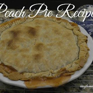 Peach Pie Spices Recipes