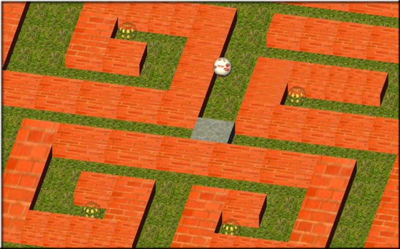 Скриншот Лабиринт мяч 3D
