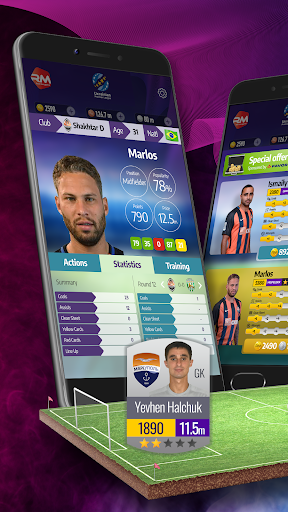 Real Manager Fantasy Soccer at another level 1.1.70 screenshots 1