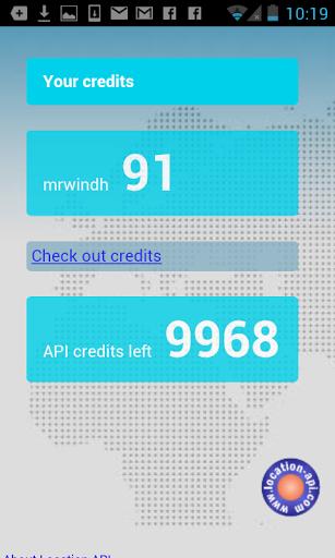 Location-API screenshot 3