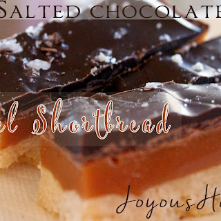 Salted Chocolate Caramel Shortbread