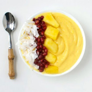 Tropical Mango Smoothie Bowl Recipe