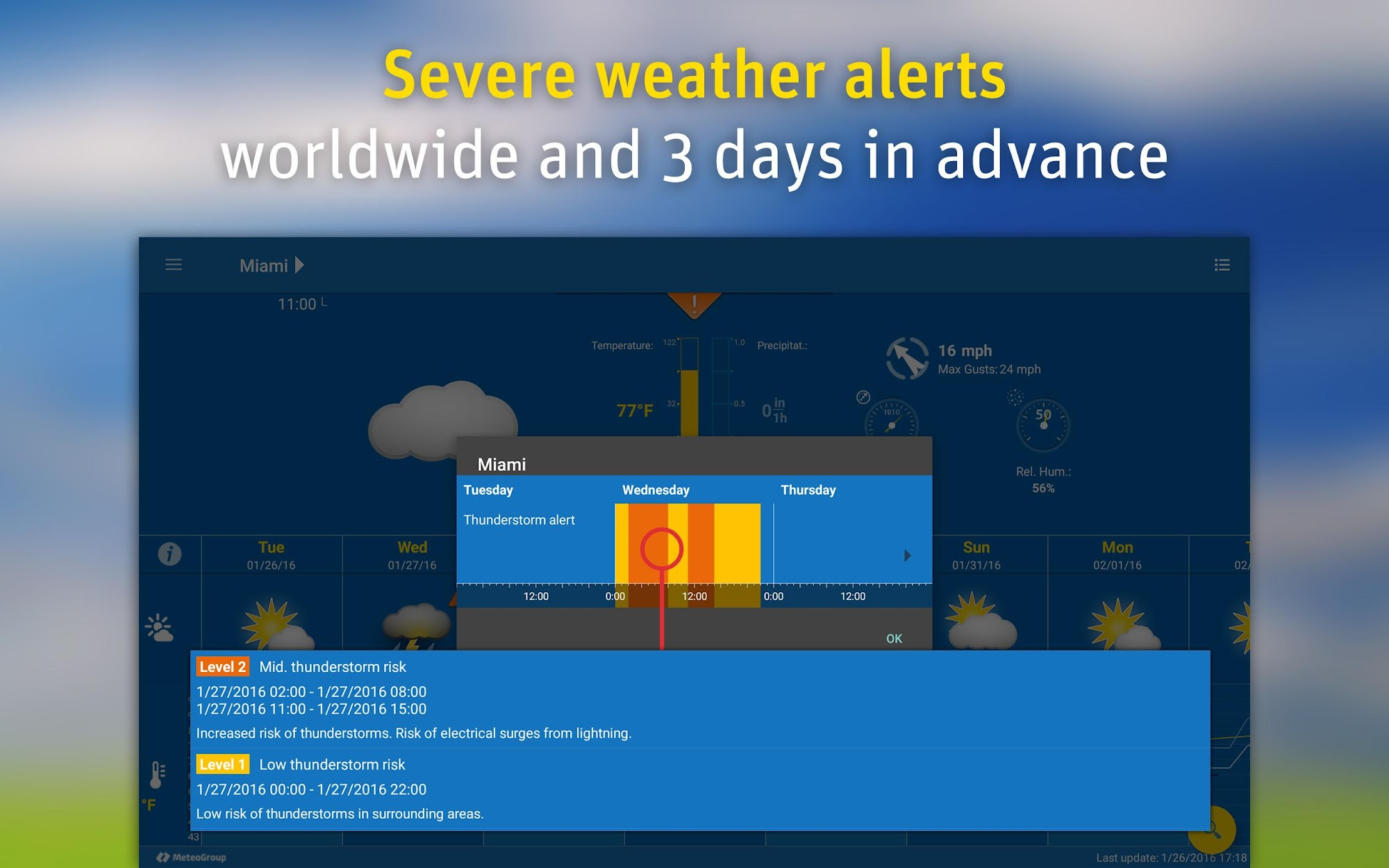 WeatherPro screenshot #14