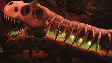 Photo: This must be the former dweller of this cave … hopefully it left no kids behind!