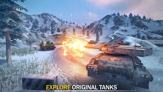 Tank Force: Modern Military Games Mod Apk (One Hit Kill) 4