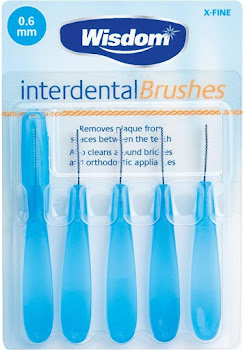 Wisdom Interdental Toothbrushes - 0.6mm, 5 Pack