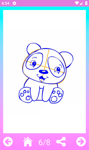 How to draw cute animals step by step 1.5 screenshots 4