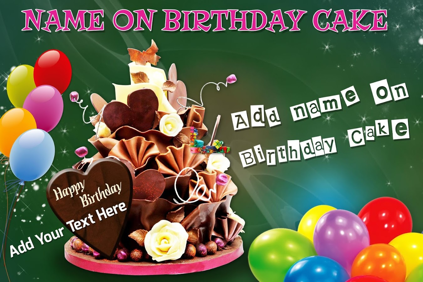 name on birthday cake android apps on google play on yummy birthday cakes free download with name