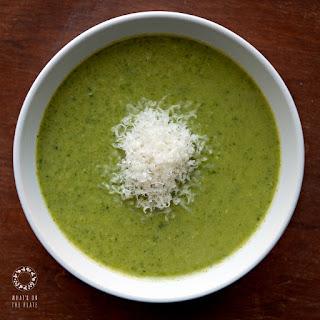 Beautifully Green Broccoli Soup