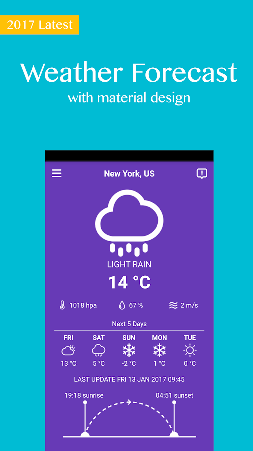 Weather Forecast Free 2017- screenshot