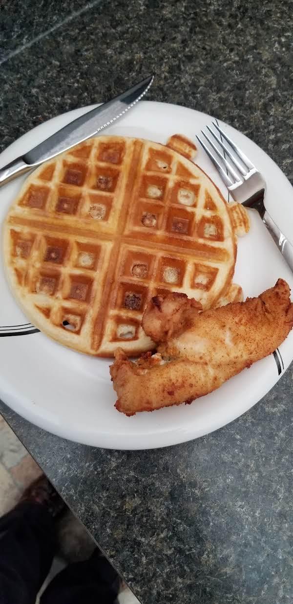 Mimi's Crunchy Waffles Recipe