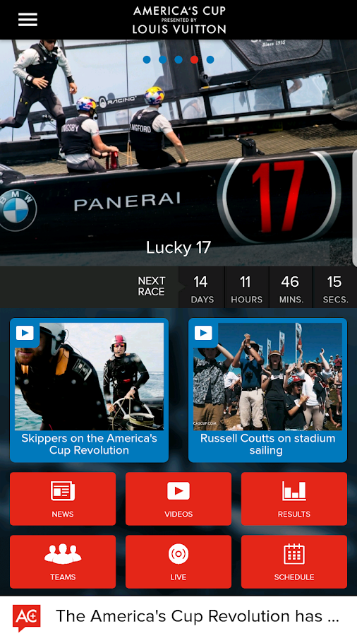 America's Cup- screenshot