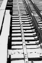 Photo: Snow and rails