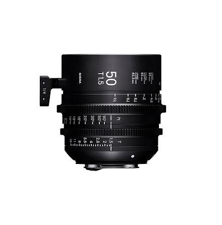 Sigma Cine 50mm T1.5 FF (Metric)