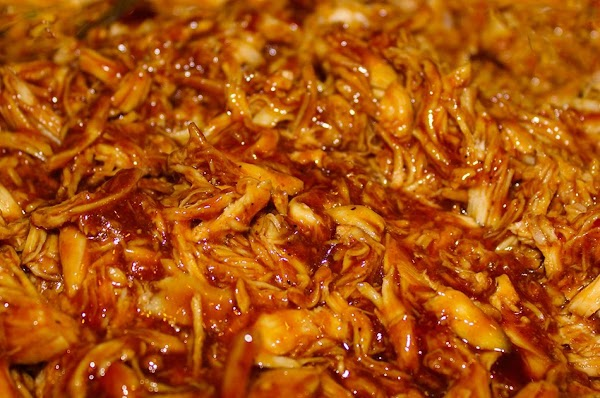 Shredded Beef Brisket In A Homemade Barbecue Sauce Recipe
