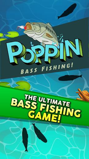 Poppin Bass Fishing screenshot 1