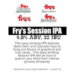 Uncle Bear's Fry's  Session IPA