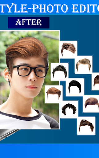 Smart Hair Style-Photo Editor 1.4 screenshots 2