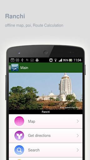 Ranchi Map offline