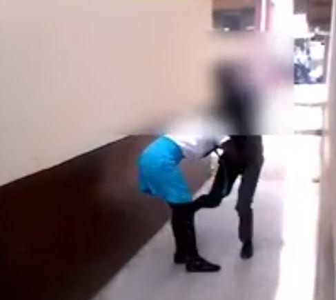 Assaulting schoolgirl