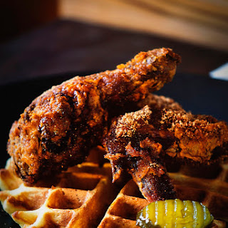 Brown Sugar Chicken and Waffles
