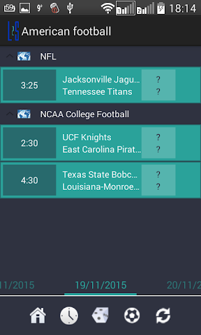 android Live 2 Sport Screenshot 1