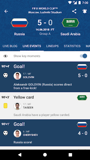2018 FIFA World Cup Russiau2122 Official App  2