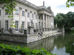 Photo: Poznávání Varšavy - virtuální prohlídka. Palác na vodě, Łazienki.