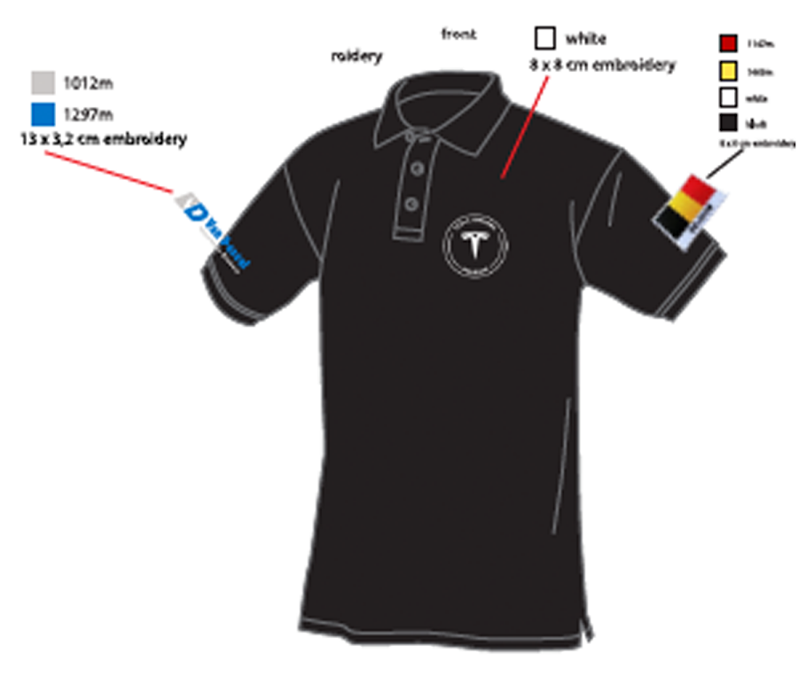 bf6caf8f ... Tesla Owners Logo. Buy. Polo for Men