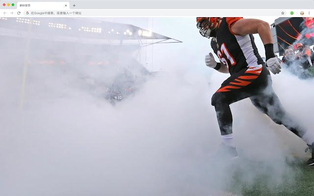Cincinnati sports pop HD new tab page theme