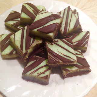 Chocolate Mint Fudge.