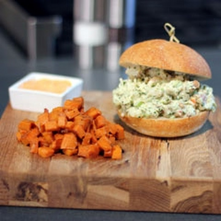 Lobster Sliders with Spicy Mayo & Sweet Potato Hash Recipe
