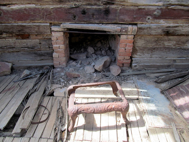 Fireplace and stove base
