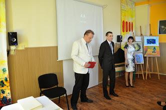 Photo: Slavnostní předávání maturitního vysvědčení, třída 4. A (2010 - 2014). Učebna výtvarné výchovy (středa 4. červen 2014).