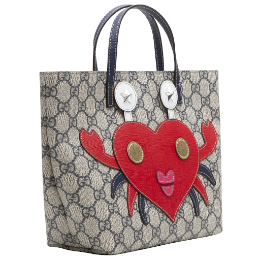 Thumbnail images of Gucci GG Crab Tote Bag