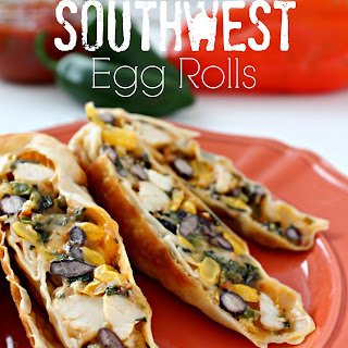Baked Southwest Egg Rolls Recipe