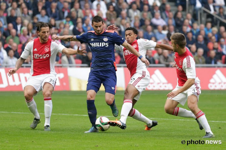 Rondje Eredivisie: Ajax wint vlot, PSV met moeite voorbij middenmoter