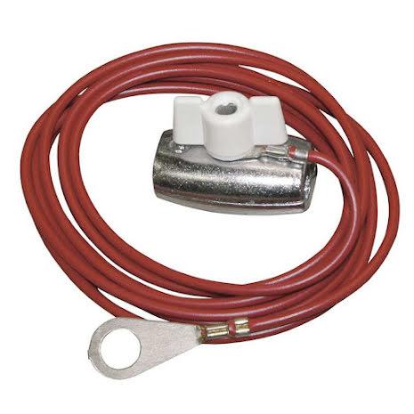 Anslutningskabel med M8 Ringkabelsko & kontaktdon för elrep