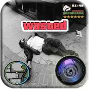 Wasted Photo Editor: Gangster Sticker