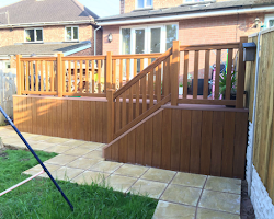 decking in devon