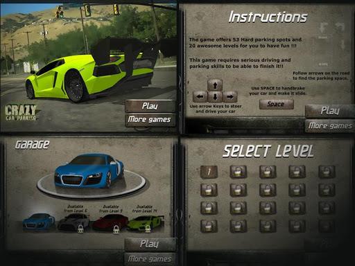 玩免費賽車遊戲APP|下載Crazy Car Parking app不用錢|硬是要APP