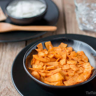 Smoked Paprika Coconut Chips.