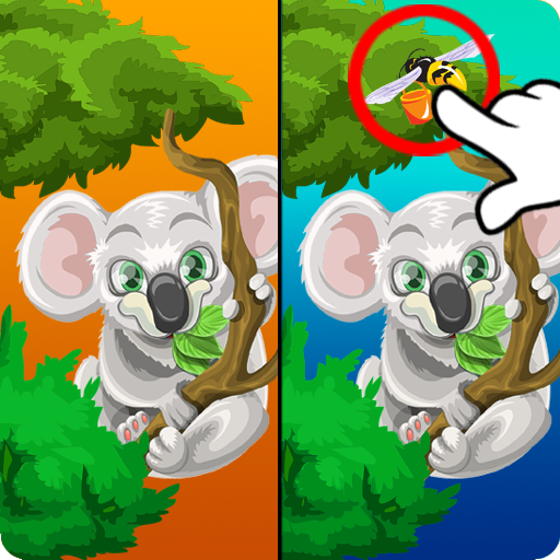 Find 10 Differences Diffrence Icon