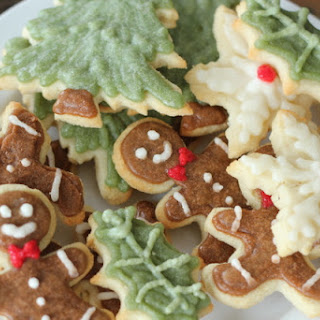 Christmas Cookie Cut Outs.