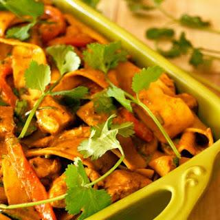 Chicken Poblano Pappardelle Pasta.