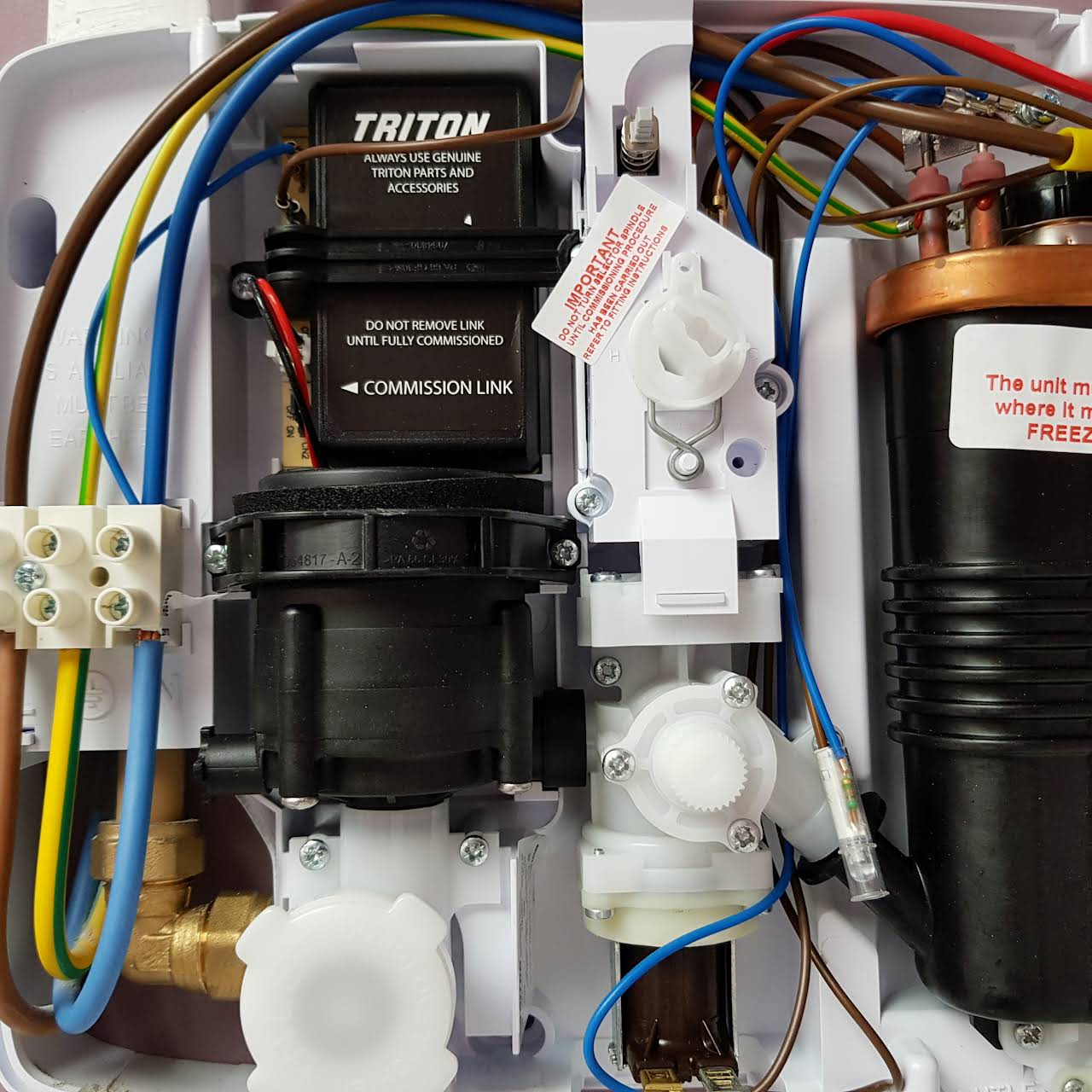 Mark O Neill Electrical Services - Triton Showers, Fuseboards ...