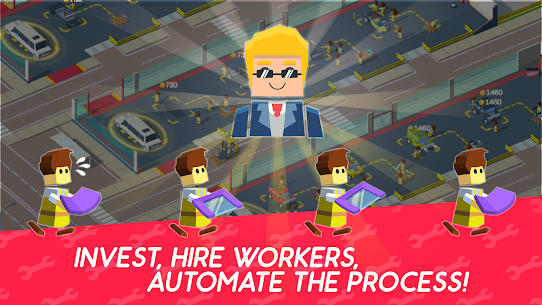 Idle Mechanics Manager Mod Apk (Unlimited Money) 3