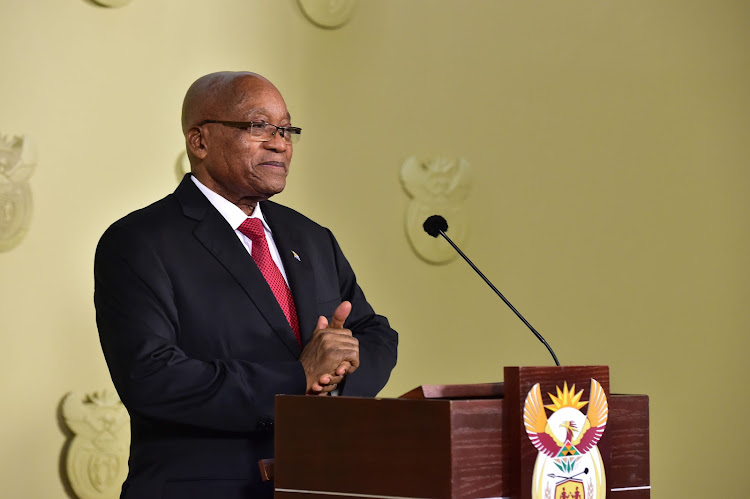 Jacob Zuma. Picture: ELMOND JIYANE